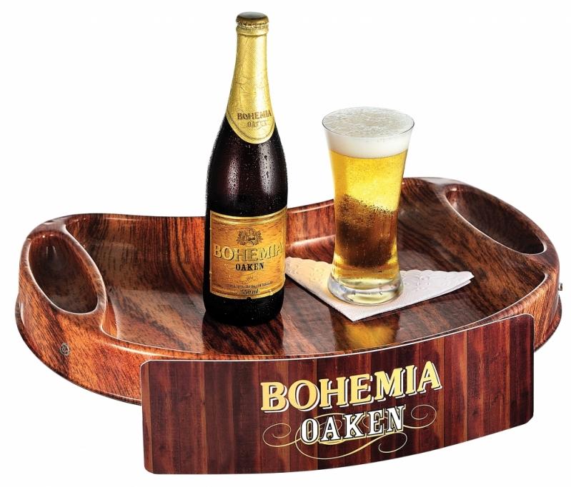 Quanto Custa Bandeja para Degustação de Bebida em Pinheiros - Bandeja Promocional com Alça de Pescoço