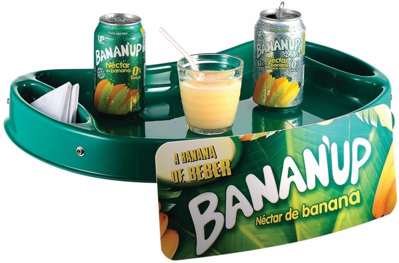 Quanto Custa Bandeja para Degustação em Betim - Bandeja Promocional com Alça de Pescoço