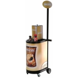 carrinho para degustação personalizado na Barra Funda