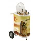 carrinho promocional de degustação preço em Limeira