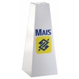 urna de acrílico para sugestões preço em Novo Hamburgo