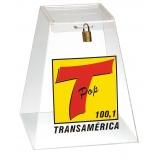 venda de urna de acrílico 30 cm em São Carlos