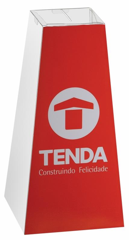 Urna de Pirâmide Promocional Preço no Itaim Paulista - Urna Pirâmide para Sorteio
