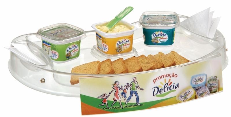 Venda de Bandeja Promocional com Alça para Degustação no Campo Limpo - Bandeja Promocional com Alça de Pescoço